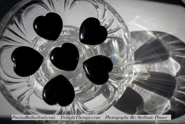 Black Obsidian Heart